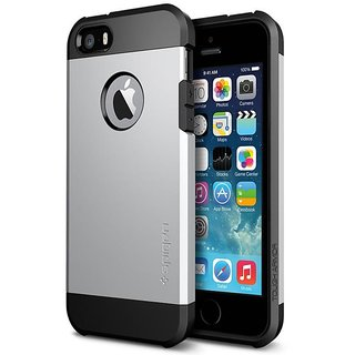 WOW Tough Armor Hybrid iPhone 5/5S Case - Silver