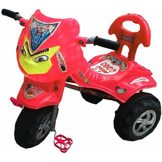Oh Baby Baby Angry Bird Mask Red Musical Tricycle For Your Kids SE-TC-04