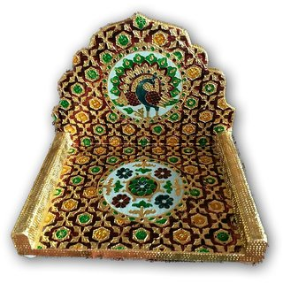 Meenakari Singhasan For Bal Gopal / Singhasan For God