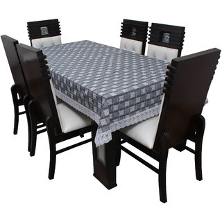 Dream Care Designer  Waterproof Dining Table Cover 6 Seater 60x90 Inches SAMS42