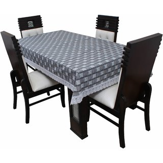 Dream Care Designer  Waterproof Dining Table Cover  4 Seater 52x76 Inches SAMS42