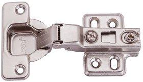 IPSA Half Overlay 3D Hydraulic Cabinet Hinge 8 Crank (Pack Of 5 Pairs)