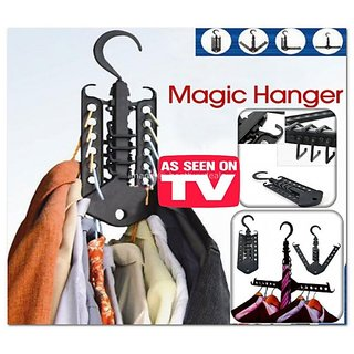 Magic Cloth Rack Foldable Travel Hanger Storage Organizer
