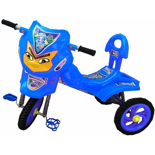 Oh Baby Baby Angry Bird Mask With Aristo Wheel Blue Musical Tricycle For Your Kids SE-TC-11