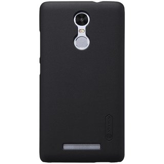 Nillkin Super Frosted Shield Hard Back Cover Case for  Redmi Note 3 - Black