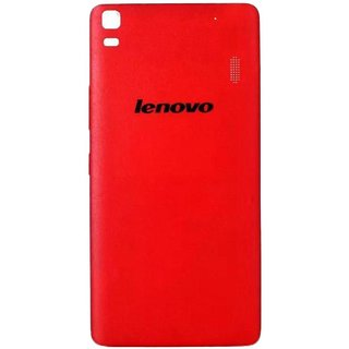 BeingStylish Back Replacement Battery Back Door Panel For Lenovo K3 Note - Red