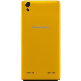BeingStylish Back Replacement Battery Back Door Panel For Lenovo A 6000 Plus - Yellow