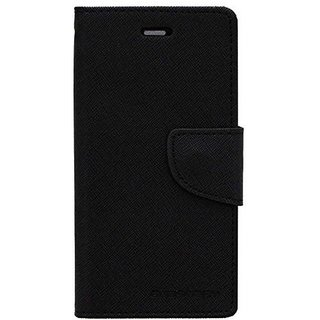 Mercury Flip Cover with Stand for Samsung Galaxy on7 - Black