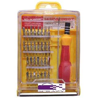 Scrazy 32 in 1 Screw Driver Tool Kit Set