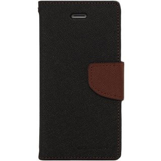 Samsung Galaxy j2 Flip Cover by Goospery - Brown