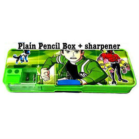 Ben 10 Alien Force BEN 10 Art Plastic Pencil Box  (Set of 1, Green)