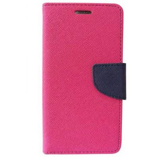 Oppo F1s Flip Cover by JMD - Pink