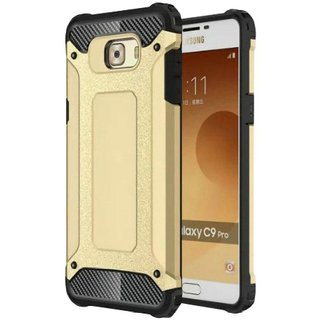 Samsung Galaxy C9 Pro Shock Proof Case Tecozo - Golden