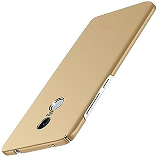 Redmi Note 4 Plain Cases Tecozo - Golden