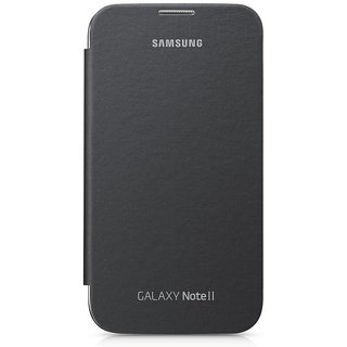 Samsung Galaxy Note 2 Flip Cover by Samsung - Black