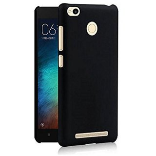 Redmi 3s Prime Cover by Wow Imagine - Black