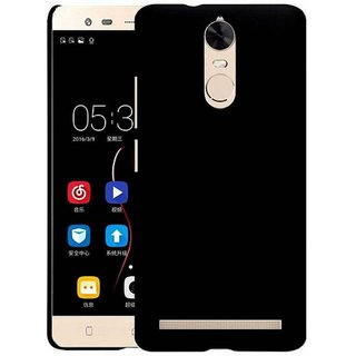 Lenovo K5 Note Cover by Wow Imagine - Black