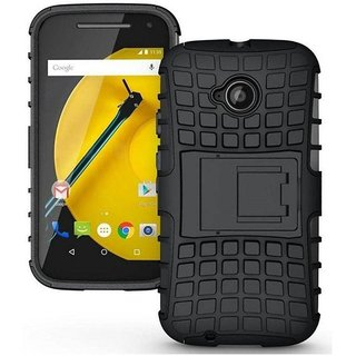 Motorola Moto E2 Cover by Wow Imagine - Black