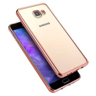 Samsung Galaxy A9 Pro Cover by SpectraDeal - Golden