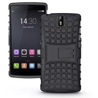 WOW Imagine Defender Tough Hybrid Armour Shockproof Hard PC + TPU with Kick Stand Rugged Back Case for OnePlus One 1+1