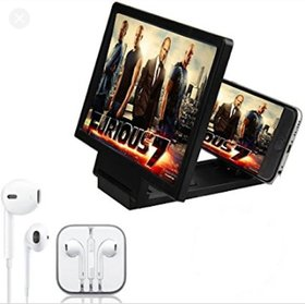 3D magnifier mobile universal magnifire glass + exclusive earphone free