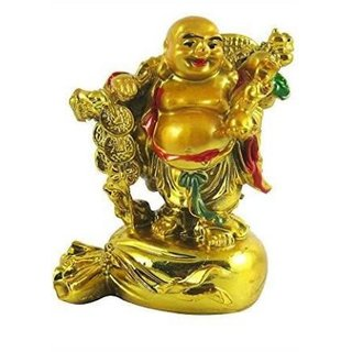 Rebuy Laughing Buddha Stand On Money Potli