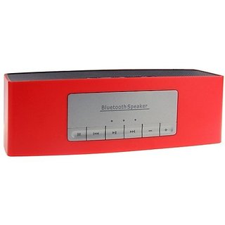 Rich Walker SR535 Soundlink Portable SpeakerAux InputPendrive SupportCompatible With All Android Mobiles Red