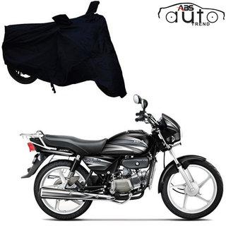 Abs Auto Trend Bike Body Black Cover For Hero Splendor Plus
