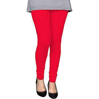Red and purple premium leggings combo