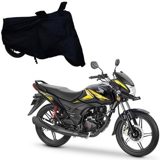 Abs Auto Trend Bike Body Black Cover For Honda Cb Shine Sp