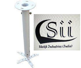Sii 4 feet ceiling mount Round Tubelar Projector Stand  (Maximum Load Capacity 35 kg)
