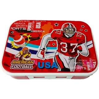 Space saver Lunch box, Red
