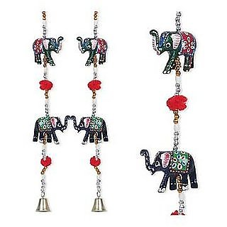 Satys Mart decorative elephant door hanging-2 Pieces