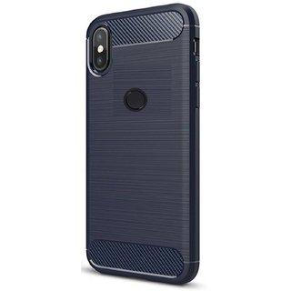 Redmi Note 5 Pro Plain Cases ClickAway  Blue