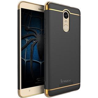 Redmi Note 4X Plain Cases ClickAway  Black