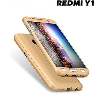 Redmi Y1 Lite Bumper Cases ClickAway  Golden