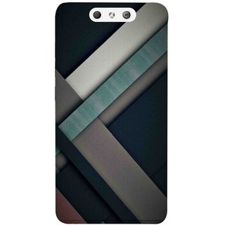 newest 19b30 9a64c Back Cover For LYF Earth 1 (Multicolor, Dual Protection, Flexible Case) by  Rising Rays