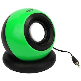 KHC SPEAKERS MINI SPEAKER WITH RECHARGEABLE BATTERY SUPPORT FOR MOBILE, TABLET, IPOD, LAPTOP, PC WITH AUX SUPPORT