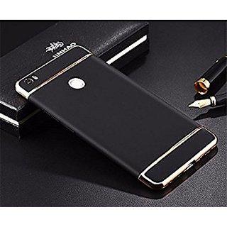 Redmi 3S Plain Cases ClickAway  Black