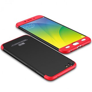 Oppo A37 Hybrid Covers ClickAway  Red
