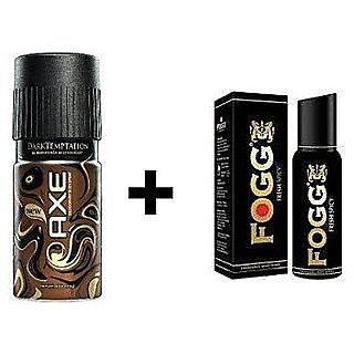 fogg and axe deo combo fof men pack of 3 pcs