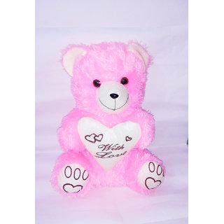 Buy Ms Sons Gift Arts Pink Teddy Big Set Of 1 Soft Stuffed