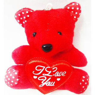 MS SONS GIFT ARTS RED TEDDY (SET OF 1) Soft Stuffed Spongy Huggable Cute Teddy Bear Birthday Gifts Girls Lovable Special Gift High Quality ...