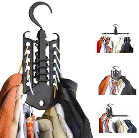 2 x Space Saving Foldable Magic Clothes Hanger
