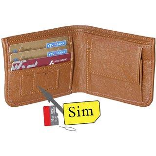 Forrester Brown Leatherite Bi-fold Wallet WS-01