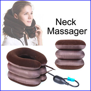 3 Layers Tractor for Cervical Spine Neck Rest Support Pillow Comfort
