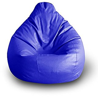 Home Berry Classic Bean Bag - XL size Without Beans -Blue ( Cover only )