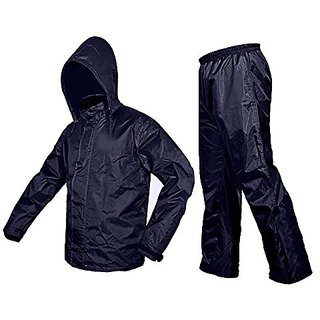 Jim-Dandy Unique Blue Raincoat With Lower And Cap (3 In 1)