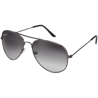 Ivy Vacker Black UV Protection Aviator Sunglasses(av013)