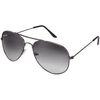 Silver Kartz Black UV Protection Aviator Sunglasses(av013)